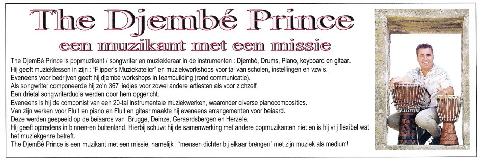 Flippers Music - Artikel the djembe prince
