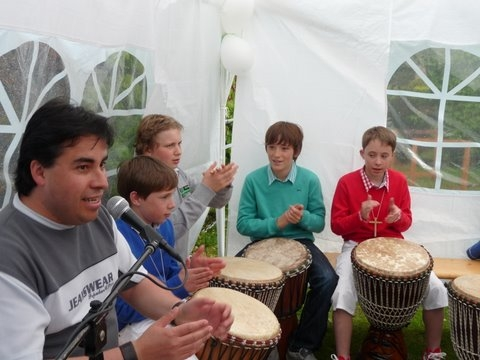 Flippers Music - Djembe workshops 1