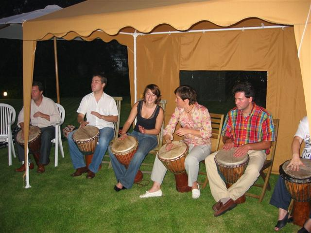 Flippers Music - Djembe workshops 2