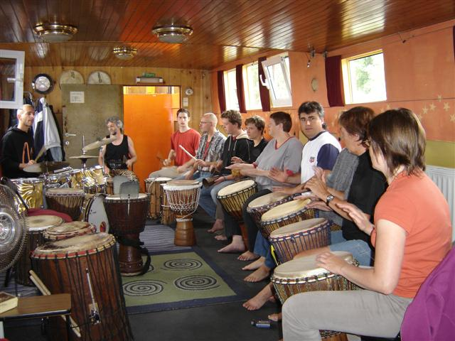 Flippers Music - Djembe workshops 6