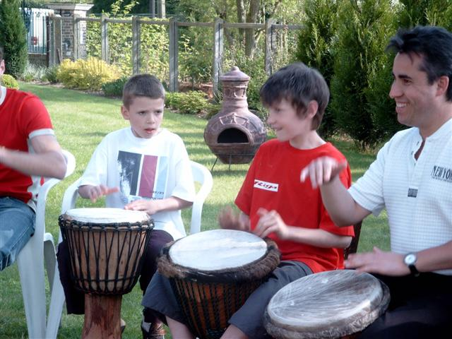 Flippers Music - Djembe workshops 7