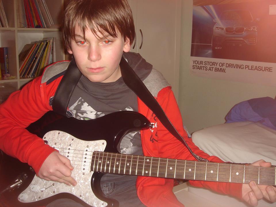 Flippers Music - elektrische gitaarles aan huis arthur