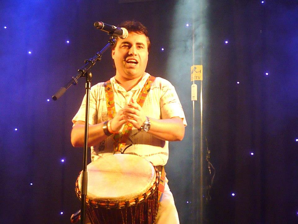 Flippers Music optreden Djembe Prince