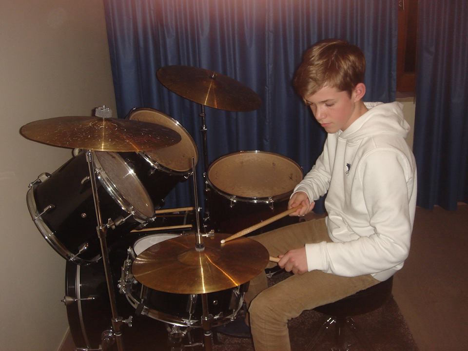 Flippers music - Muzieklessen Drum