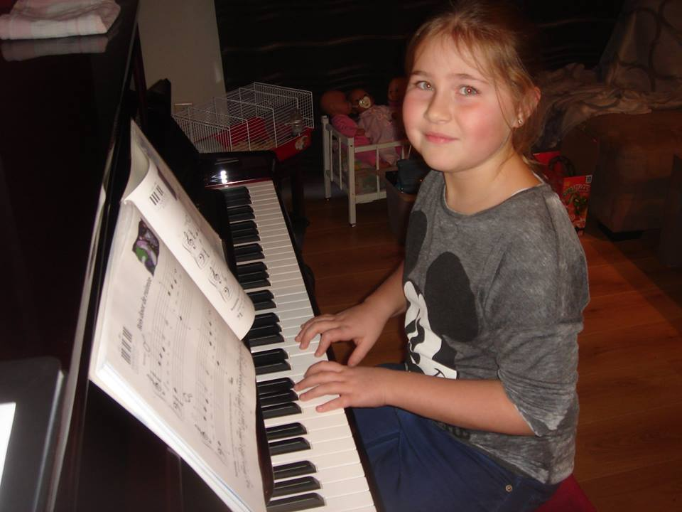 Flippers music - Muzieklessen Piano