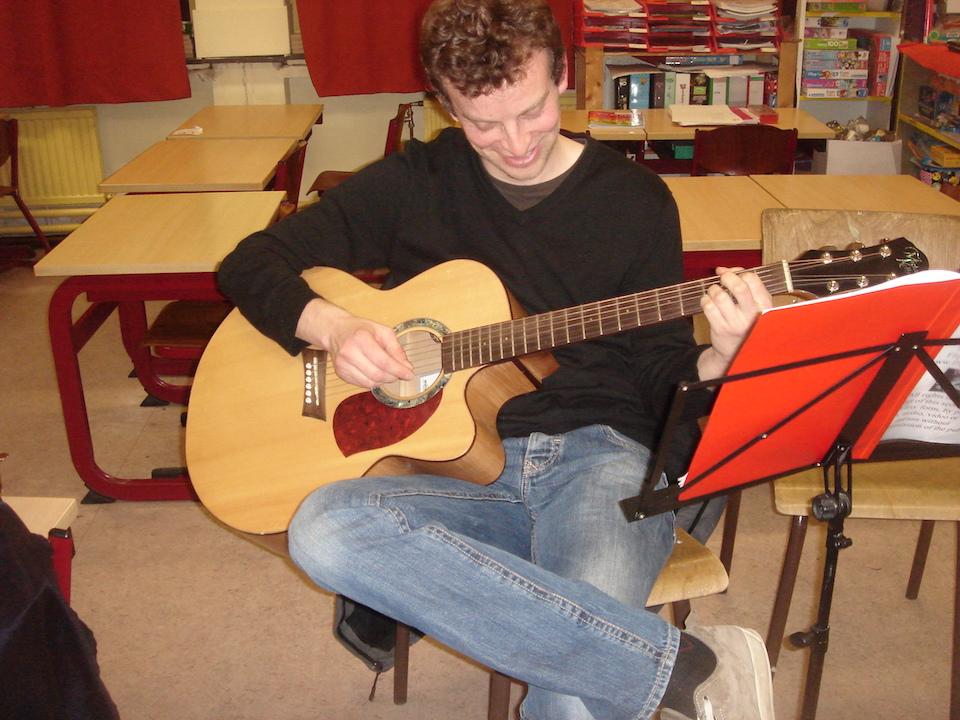 Flippers music - Muzieklessen gitaar