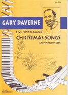 FIVE NEW ZEALAND CHRISTMAS SONGS PIANO EN ZANG