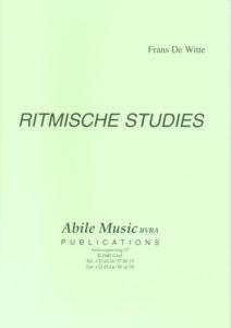 f de witte ritmische studies