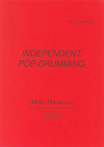 F DE WITTE INDEPENT POP DRUMMING